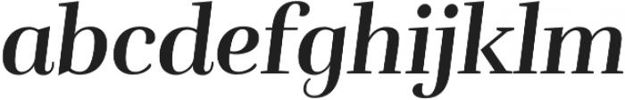 Rufina Bold Italic otf (700) Font LOWERCASE