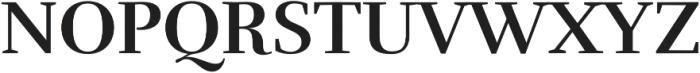 Rufina Bold otf (700) Font UPPERCASE