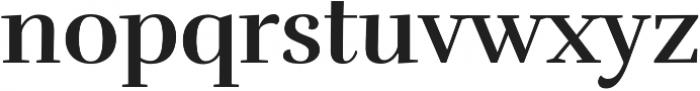 Rufina Bold otf (700) Font LOWERCASE