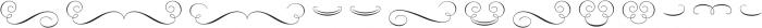 Rufina Ornaments otf (400) Font UPPERCASE