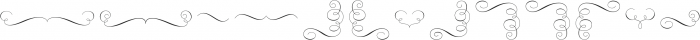 Rufina Ornaments otf (400) Font LOWERCASE