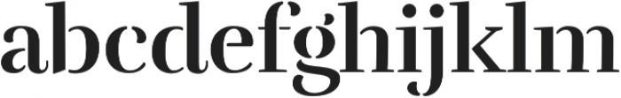 Rufina Stencil Alt 01 Bold otf (700) Font LOWERCASE