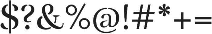 Rufina Stencil Alt 02 Regular otf (400) Font OTHER CHARS