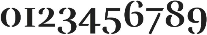 Rufina Stencil Bold otf (700) Font OTHER CHARS