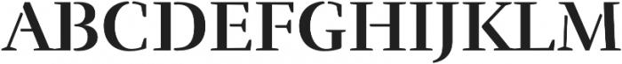 Rufina Stencil Bold otf (700) Font UPPERCASE