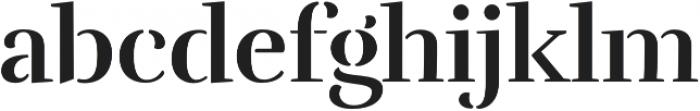 Rufina Stencil Bold otf (700) Font LOWERCASE