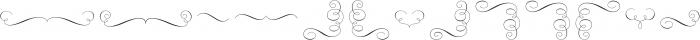 Rufina Stencil Ornaments otf (400) Font LOWERCASE