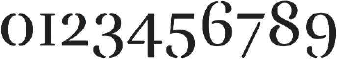 Rufina Stencil Regular otf (400) Font OTHER CHARS