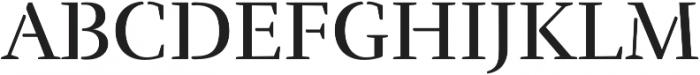 Rufina Stencil Regular otf (400) Font UPPERCASE
