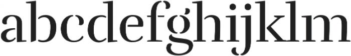 Rufina Stencil Regular otf (400) Font LOWERCASE