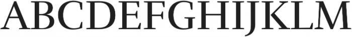 RufinaALT01 Regular otf (400) Font UPPERCASE