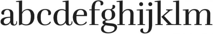 RufinaALT01 Regular otf (400) Font LOWERCASE