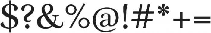 RufinaALT02 Regular otf (400) Font OTHER CHARS