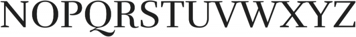 RufinaALT02 Regular otf (400) Font UPPERCASE