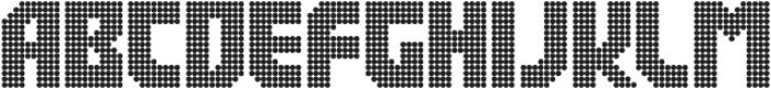 Rukyltronic Circle otf (400) Font UPPERCASE