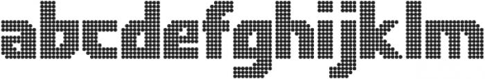 Rukyltronic Circle otf (400) Font LOWERCASE