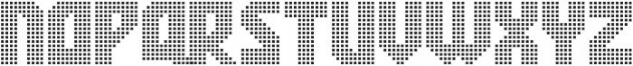 Rukyltronic Network otf (400) Font UPPERCASE