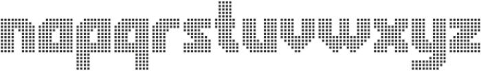 Rukyltronic Network otf (400) Font LOWERCASE