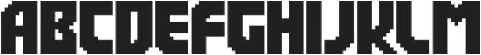 Rukyltronic Regular otf (400) Font UPPERCASE