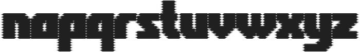 Rukyltronic Screen otf (400) Font LOWERCASE
