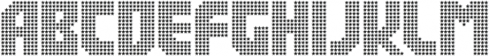 Rukyltronic Star otf (400) Font UPPERCASE