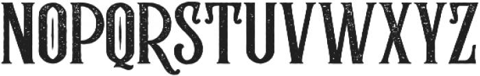 Rumble Brave Rough otf (400) Font UPPERCASE