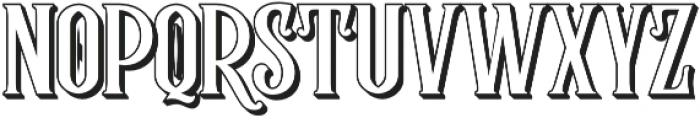 Rumble Brave shadow 3D otf (400) Font