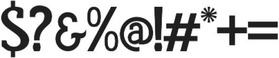Rumoura otf (400) Font OTHER CHARS