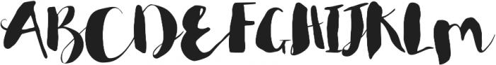 Rumpledrop otf (400) Font UPPERCASE