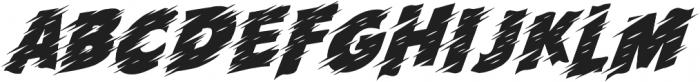 Run! otf (400) Font LOWERCASE