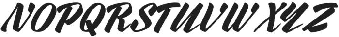 Rurable otf (400) Font UPPERCASE
