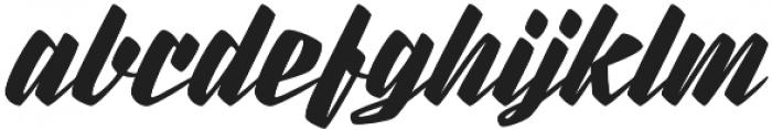 Rurable otf (400) Font LOWERCASE