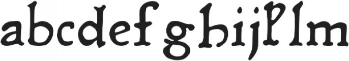 Rusch otf (400) Font LOWERCASE