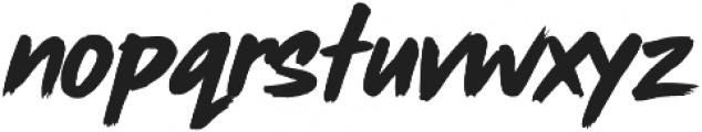 Rush Hour ttf (400) Font LOWERCASE