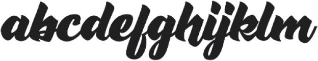Rushing Nightshade otf (400) Font LOWERCASE
