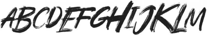 Rushink otf (400) Font UPPERCASE