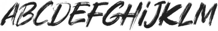 Rushink otf (400) Font LOWERCASE