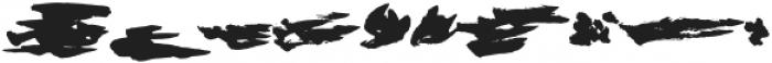 Rushtard Bonus Regular otf (400) Font OTHER CHARS