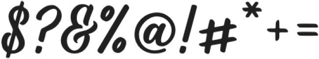 Rushton Regular otf (400) Font OTHER CHARS