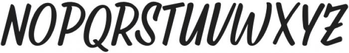 Rushton Regular otf (400) Font UPPERCASE