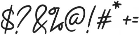 Ruslanovic otf (400) Font OTHER CHARS