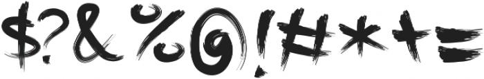 Rusli ttf (400) Font OTHER CHARS