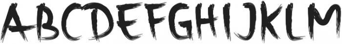 Rusli ttf (400) Font UPPERCASE