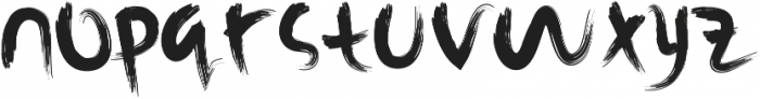 Rusli ttf (400) Font LOWERCASE