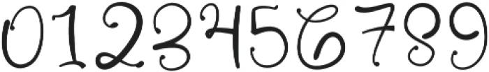 Russhell Regular otf (400) Font OTHER CHARS