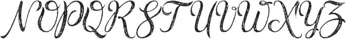 Rusted Brushpen otf (400) Font UPPERCASE