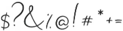 Rustic Charm otf (400) Font OTHER CHARS