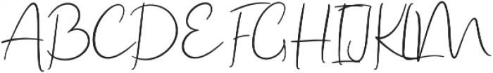 Rustic Charm otf (400) Font UPPERCASE
