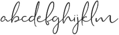 Rustic Charm otf (400) Font LOWERCASE