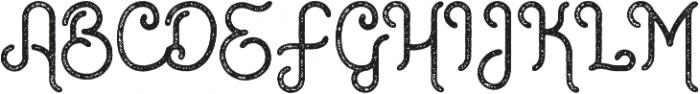 Rustic Gate Vintage Ext ttf (400) Font UPPERCASE